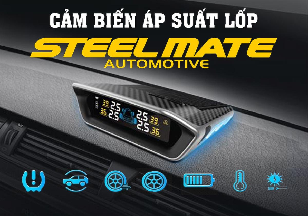 Cảm biến áp suất lốp TPMS STeelmate MT-11 - Nội thất đồ chơi ô tô